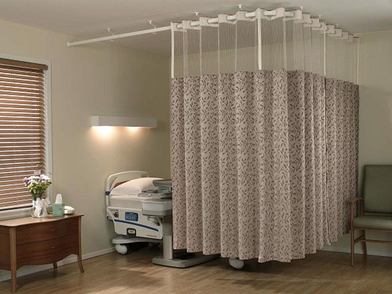 Hospital Curtain Track Cubicle Track Hospital Bed Curtain