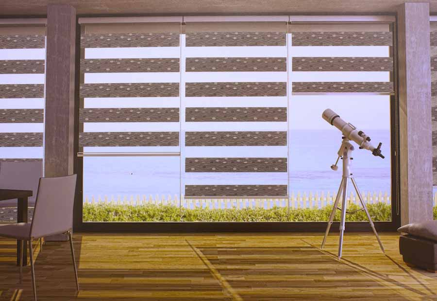 Printed Zebra Blinds for windows
